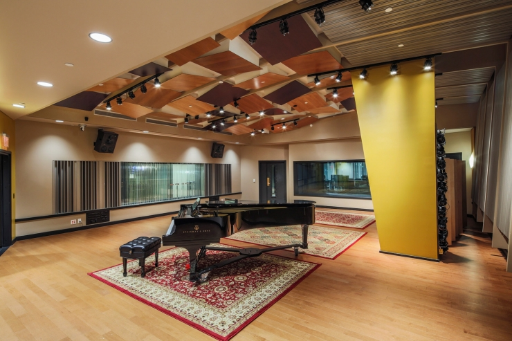Walters Storyk Design Group WSDG With Berklee College Of Music Have Won The TEC Awards 2015 Best Studio Project Opened