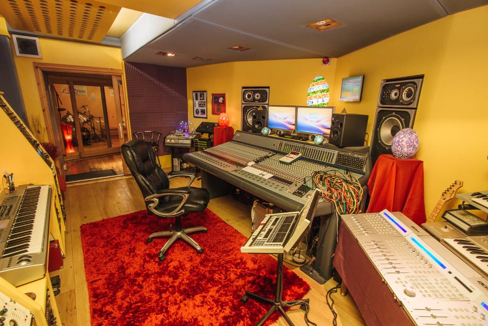 Outstanding Prism Recording Studios Staffordshire Allstudios Largest Home Design Picture Inspirations Pitcheantrous